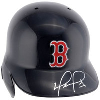 DAVID ORTIZ Autographed Boston Red Sox Cool Flow Batting Helmet FANATICS