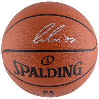 LUKA DONCIC Autographed Dallas Mavericks Spalding Basketball FANATICS