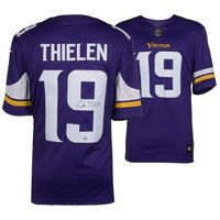 ADAM THIELEN Autographed Minnesota Vikings Purple Nike Limited Jersey FANATICS