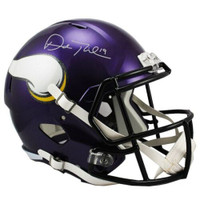 ADAM THIELEN Autographed Minnesota Vikings Full Size Speed Replica Helmet FANATICS