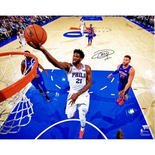 755ed7ec027 JOEL EMBIID Philadelphia 76ers Autographed