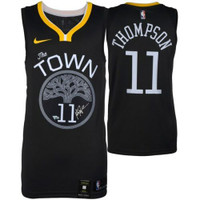 KLAY THOMPSON Autographed Golden State Warriors Nike Statement Edition Jersey FANATICS