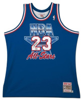 MICHAEL JORDAN Signed 1993 Mitchell & Ness NBA All Star Authentic Jersey UDA