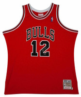 MICHAEL JORDAN Signed Bulls Mitchell & Ness #12 Authentic 1990 Jersey UDA
