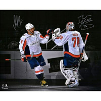 ALEX OVECHKIN & BRADEN HOLTBY Washington Capitals Autographed 16'' x 20'' Spotlight Photograph Limited Edition of 88 FANATICS