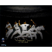 "MARIANO RIVERA New York Yankees Autographed ""HOF 2019"" 16"" x 20"" 'Evolution' Photograph STEINER"