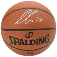 LUKA DONCIC Autographed Dallas Mavericks Authentic Spalding Basketball FANATICS