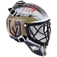 MARC-ANDRE FLEURY Autographed Las Vegas Golden Knights Mini Goalie Mask FANATICS