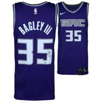 MARVIN BAGLEY III Autographed Sacramento Kings Purple Swingman Jersey FANATICS