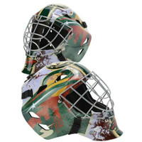 DEVAN DUBNYK Autographed Minnesota Wild Replica Goalie Mask FANATICS