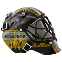 MATT MURRAY Autographed Pittsburgh Penguins Mini Goalie Mask FANATICS