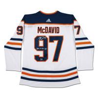06882357d9f CONNOR McDAVID Edmonton Oilers Autographed & Inscribed