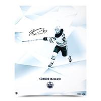 "CONNOR McDAVID Edmonton Oilers Autographed ""Clarity"" 16 x 20 Photograph UDA"