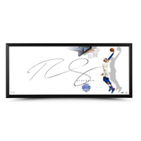 "BEN SIMMONS Philadelphia 76ers Autographed Rookie of the Year ""The Show"" Framed Display UDA"