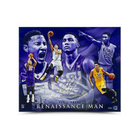 "BEN SIMMONS LSU Tigers Autographed ""Renaissance Man"" 16 x 20 Photograph UDA"