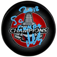 "ALEX OVECHKIN Washington Capitals Autographed ""2018 SC Champs"" Official Puck FANATICS"