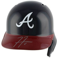 FREDDIE FREEMAN Autographed Atlanta Braves Batting Helmet FANATICS