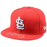 PAUL GOLDSCHMIDT Autographed St. Louis Cardinals New Era Baseball Cap FANATICS