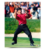 TIGER WOODS Autographed US Open Champ Photo UDA