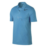 TIGER WOODS Autographed Nike Blue Fury Polo UDA Limited Edition of 25