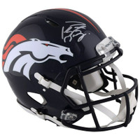 PEYTON MANNING Autographed Denver Broncos Proline Speed Helmet FANATICS