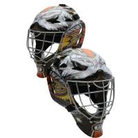 JOHN GIBSON Autographed Anaheim Ducks Replica Goalie Mask FANATICS