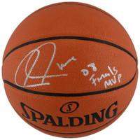 "PAUL PIERCE Autographed Boston Celtics ""08 Finals MVP"" Spalding Basketball FANATICS"