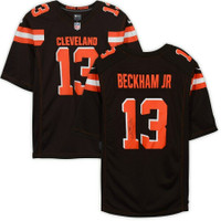 ODELL BECKHAM Jr. Autographed Cleveland Browns Nike Brown Game Jersey FANATICS