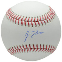J.T. REALMUTO Autographed Philadelphia Phillies Official Major League Baseball FANATICS