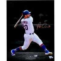 "PETE ALONSO Autographed New York Mets ""Spotlight"" 11"" x 14"" Photograph FANATICS"