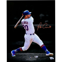 "PETE ALONSO Autographed New York Mets ""Spotlight"" 11"" x 14"" Photograph FANATICS"