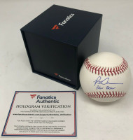 "PETE ALONSO Autographed New York Mets ""Polar Bear"" Official Baseball FANATICS"
