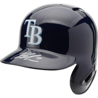 AUSTIN MEADOWS Autographed Tampa Bay Rays Replica Batting Helmet FANATICS