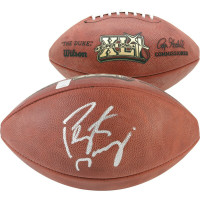 PEYTON MANNING Autographed Super Bowl XLI Official Duke Football  - FANATICS