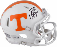 PEYTON MANNING Autographed Tennessee Volunteers Speed Mini Helmet  - FANATICS