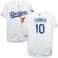 JUSTIN TURNER Autographed Los Angeles Dodgers Authentic White Jersey FANATICS