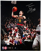 "TRAE YOUNG Autographed Atlanta Hawks ""Clean Look"" 16"" x 20"" Photograph PANINI Limited Edition of 111"