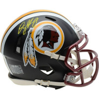 DWAYNE HASKINS Autographed Washington Redskins Black Matte Mini Helmet FANATICS