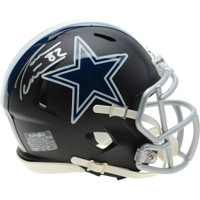 JASON WITTEN Autographed Dallas Cowboys Black Matte Mini Helmet FANATICS