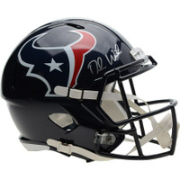 DESHAUN WATSON Autographed Houston Texans Speed Helmet FANATICS