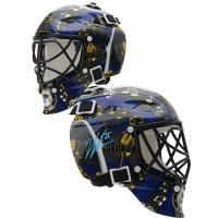JORDAN BINNINGTON Autographed St. Louis Blues Mini Goalie Mask FANATICS