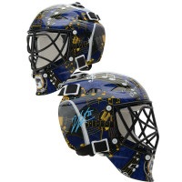JORDAN BINNINGTON Autographed St. Louis Blues Mini Goalie Mask FANATICS