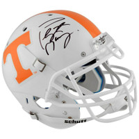 PEYTON MANNING Autographed Tennessee Volunteers Schutt Pro-Line Helmet FANATICS