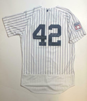 "MARIANO RIVERA Autographed ""1st Unanimous Vote"" Authentic Jersey STEINER LE 42"