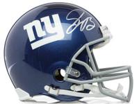 SAQUON BARKLEY Autographed New York Giants Proline Authentic Helmet PANINI