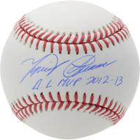 """MIGUEL CABRERA Autographed Detroit Tigers """"AL MVP 2012-13"""" Baseball FANATICS"""