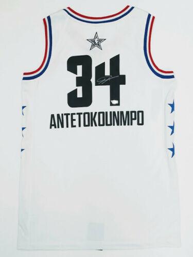 save off 872a3 e678b GIANNIS ANTETOKOUNMPO Autographed Milwaukee Bucks 2019 All Star Jersey  FANATICS