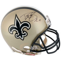 DREW BREES Autographed New Orleans Saints Proline Authentic Helmet FANATICS