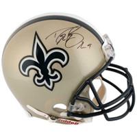 DREW BREES Autographed New Orleans Saints Proline Authentic Helmet FANATICS