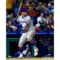 "PETE ALONSO Autographed New York Mets 16 x 20 ""MLB Debut"" Photograph FANATICS"